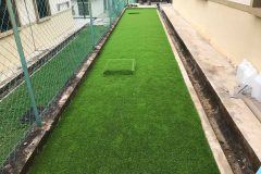 Pemasangan Rumput Tiruan (Artificial Grass) di Taman Bukit Katil Melaka