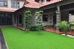 Pemasangan Rumput Tiruan (Artificial Grass) di Orna Golf Resort Melaka