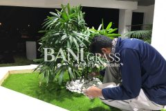 Pemasangan Rumput Tiruan (Artificial Grass) di Petronas Melaka Refinery Malaysia Sungai Udang