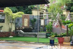 Pemasangan Rumput Tiruan (Artificial Grass) di Taman Kemas Johor Bahru