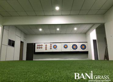 Pemasangan Rumput Tiruan (Artificial Grass) di ANSAL Archery Jasin Melaka