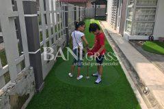 Pemasangan Rumput Tiruan (Artificial Grass) di Merlimau Melaka