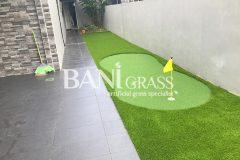 Pemasangan Rumput Tiruan (Artificial Grass) di Skudai Baru Johor Bahru