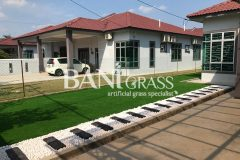 Pemasangan Rumput Tiruan (Artificial Grass) di Taman Rajawali Kesang Muar Johor
