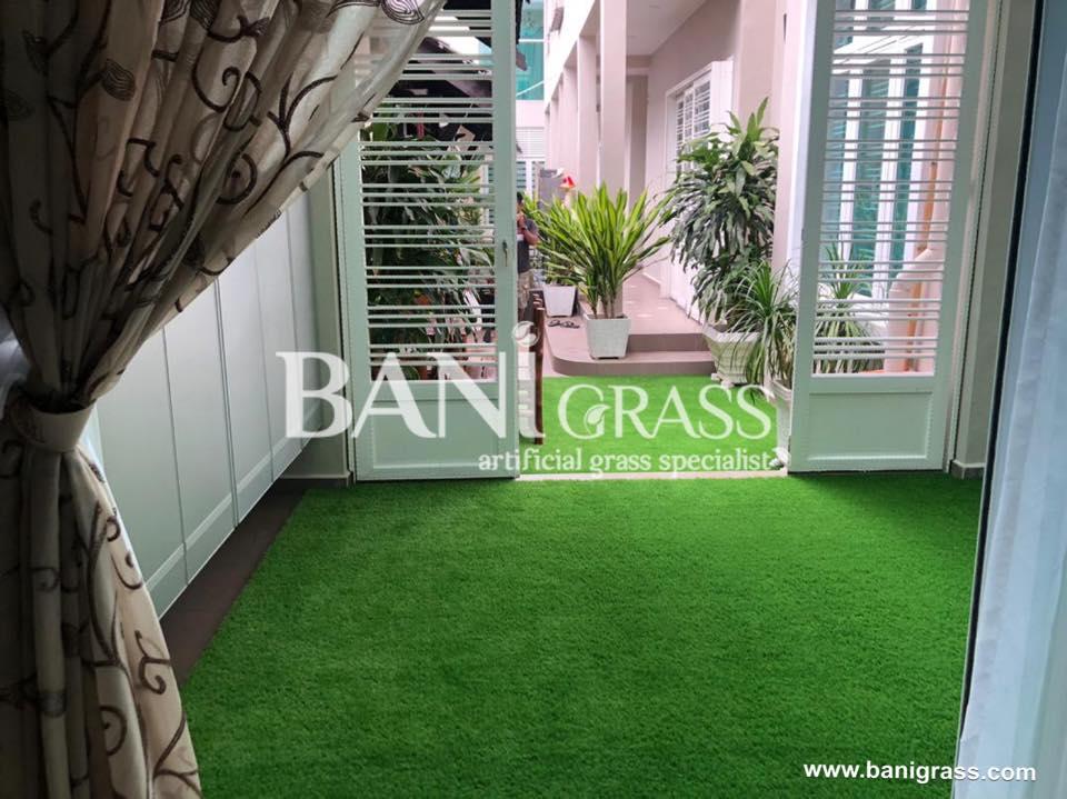 Pemasangan Rumput Tiruan (Artificial Grass) di Villa Sinar Kasih Melaka