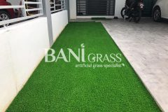 Pemasangan Rumput Tiruan (Artificial Grass) di Taman Saujana KLIA Sepang