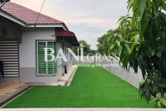 Pemasangan Rumput Tiruan (Artificial Grass) di Taman Sri Temenggong Muar Johor
