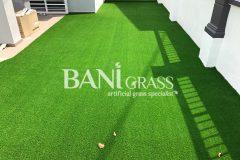 Pemasangan Rumput Tiruan (Artificial Grass) di Taman Muzaffar Heights Melaka