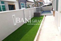 Pemasangan Rumput Tiruan (Artificial Grass) di Homestay Bukit Rambai Melaka