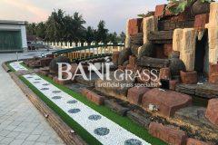 Pemasangan Rumput Tiruan (Artificial Grass) di sebuah rumah banglo di Melaka