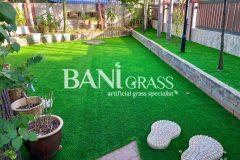 Pemasangan Rumput Tiruan (Artificial Grass) di sebuah Villa Sinar Kasih Batu Berendam Melaka