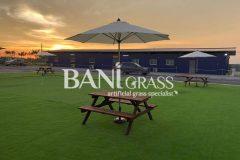 Pemasangan Rumput Tiruan (Artificial Grass) di syarikat Hyundai di Kuala Sungai Baru Melaka