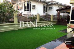 Pemasangan Rumput Tiruan (Artificial Grass) di kediaman, Melaka