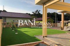 Pemasangan Rumput Tiruan (Artificial Grass) di Telok Mas Melaka