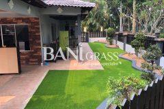 Pemasangan rumput tiruan (artificial grass) di Damansara