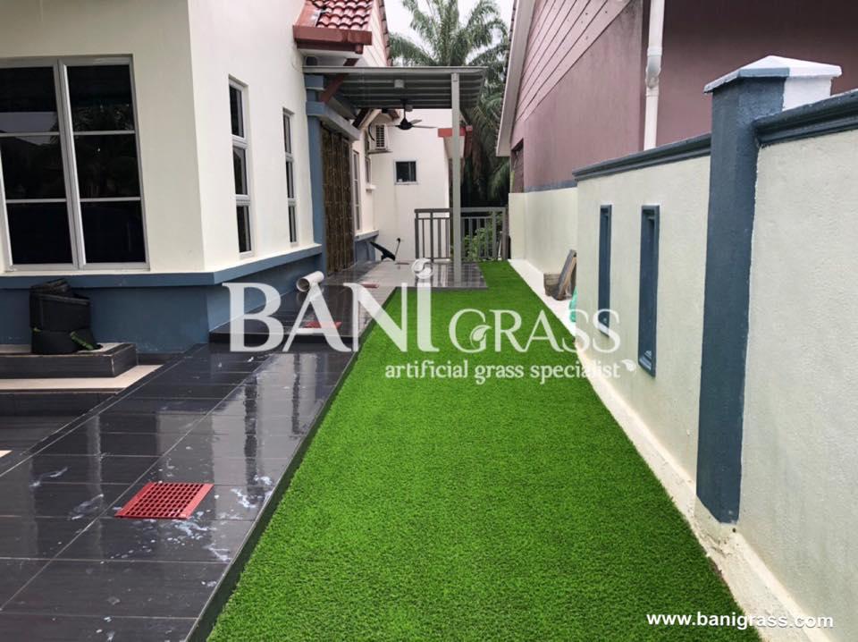 Pemasangan rumput tiruan (artificial grass) di Seremban Negeri Sembilan