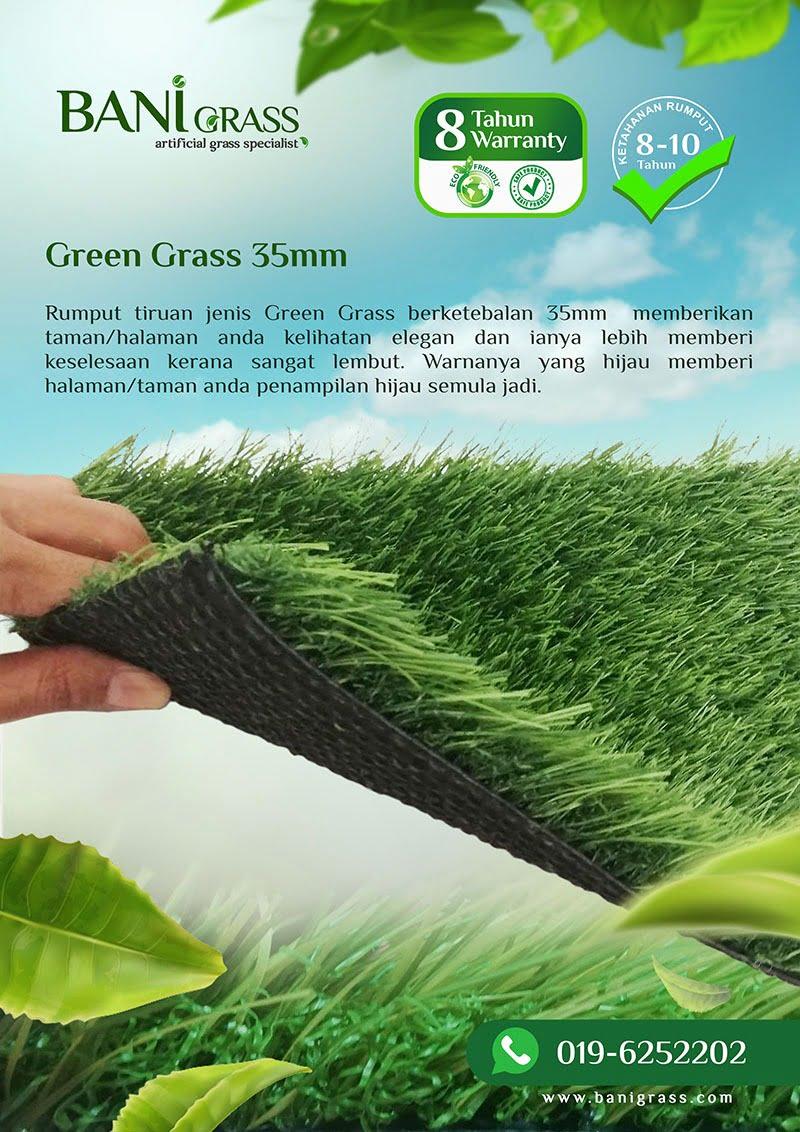 green grass 35mm