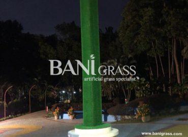 Pemasangan Rumput Tiruan (Artificial Grass) di Taman Seribu Bunga Melaka