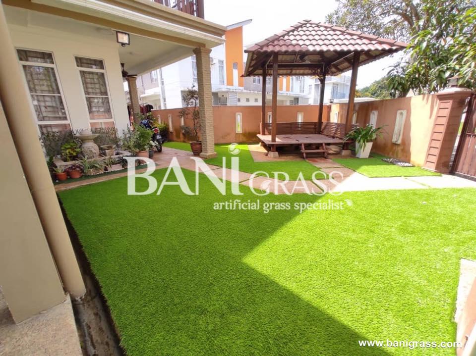 Pemasangan Rumput Tiruan (Artificial Grass) di Hulu Selangor
